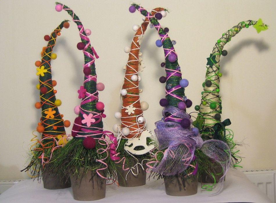 Идея подарка: декоративная елочка