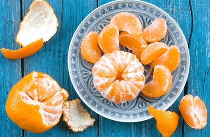 Tangerines za kupunguza uzito  Kukubalika kwa tangerines kwa