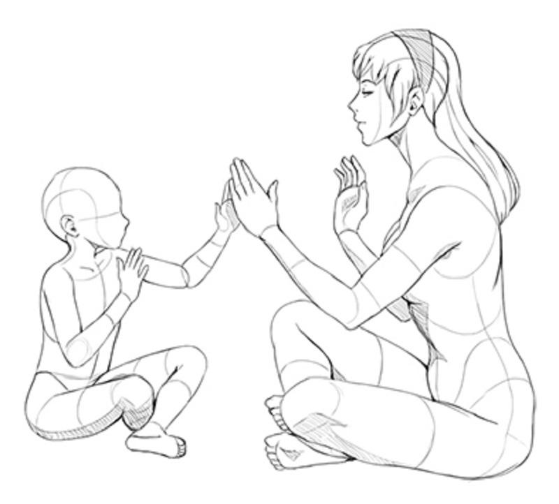Lucrând Pe Tema Ochilor Unui Copil Cum Să Desenezi Un