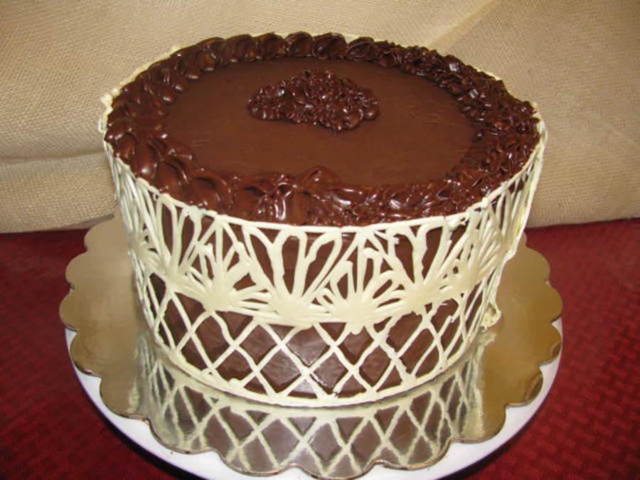 компания как украсить торт шоколадным узором фото воспоминаниям власика
