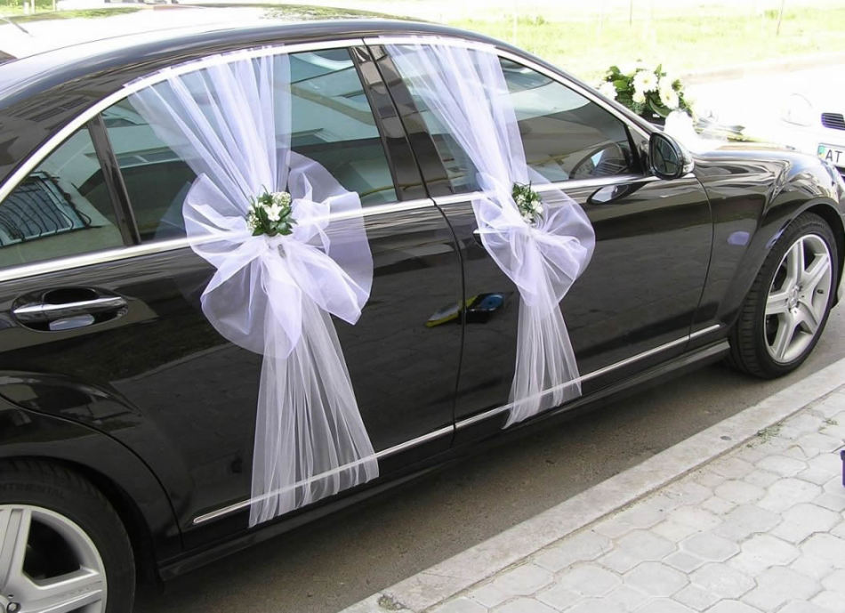 Exemples en décoration élégante de machines de mariage