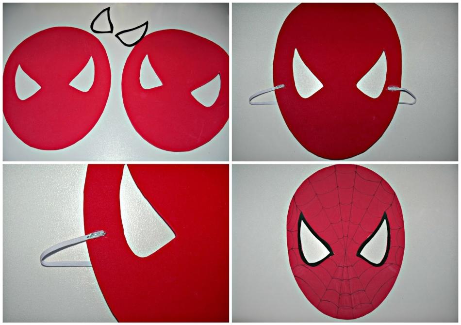 Karton Orumcek Adam Maskesi Taramasi Kagit Oyuncaklar Avengers