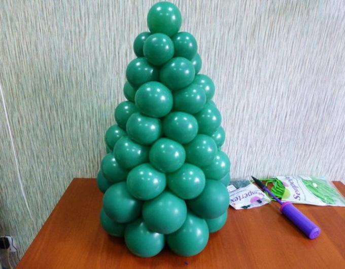 Tree from round balls