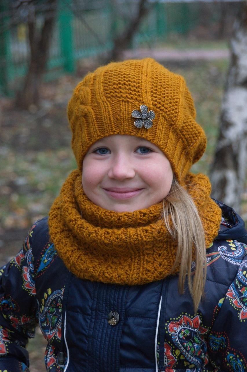 Esquema e descrição de malha chapéu de primavera chapéu para menina