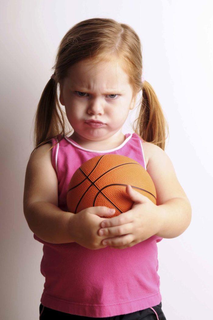 Картинка злой девочки