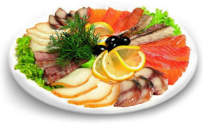 Рыбное ассорти к праздничному столу
