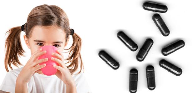 С какого возраста можно активированный уголь детям