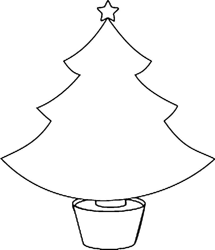 Шаблоны новогодней елки для вырезания из бумаги распечатать, открытка
