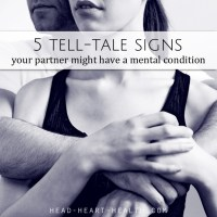 5 Tell-Tale Signs Your Partner Might Have a Mental Condition