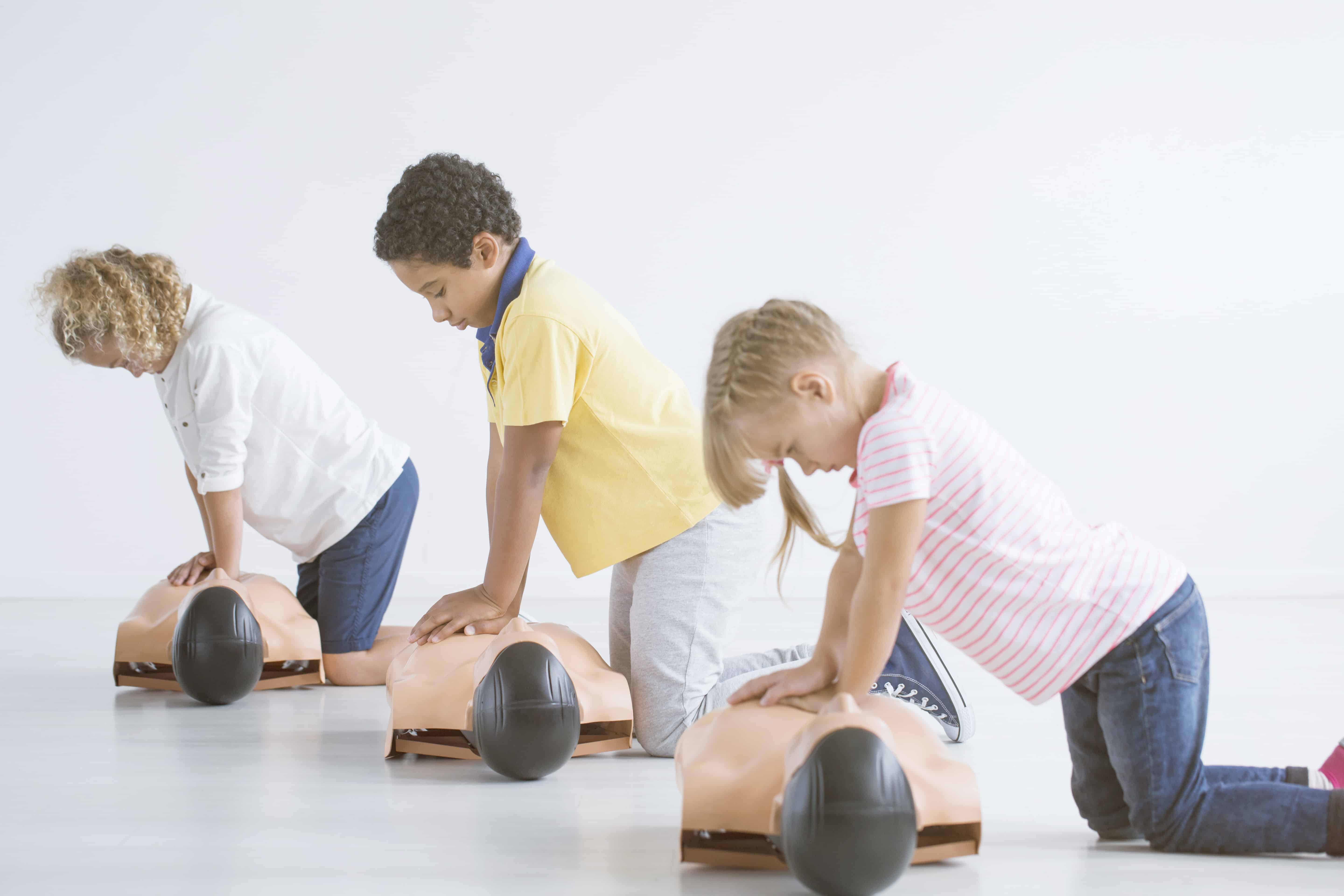 First Aid When Is The Right Time To Teach Children