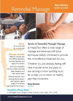 Xmas Massage Voucher 2