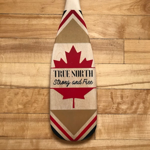 True-North-Decorative-Canoe-Paddle-Detail