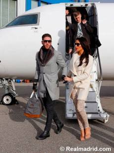 Ramos and Pilar arrive in Zurich