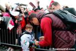 Ronaldo signs for fan in Zurich