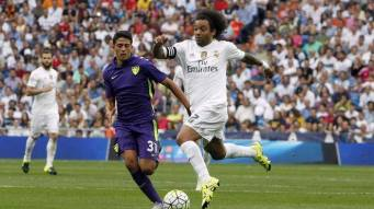 Marcelo on his toes