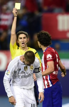 Ramos yellow card