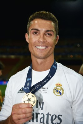 during the UEFA Champions League Final between Real Madrid and Club Atletico de Madrid at Stadio Giuseppe Meazza on May 28, 2016 in Milan, Italy..