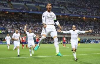 Sergio jumps