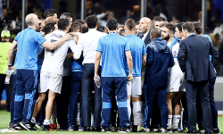 The talk before the extra time