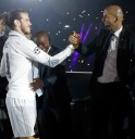 Bale and Zidane shake on it