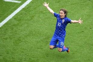 Luka celebrates