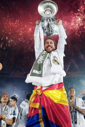 Ramos and fireworks