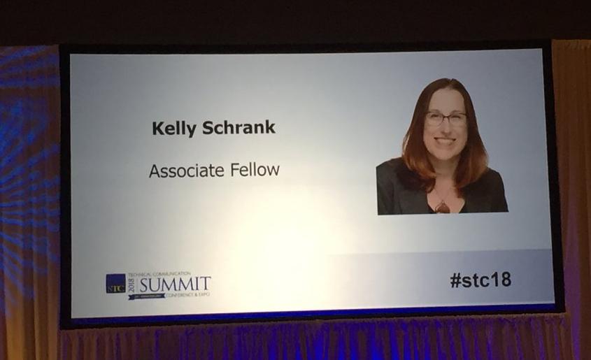 Kelly Getting Assoiate Fellow on Big Screen