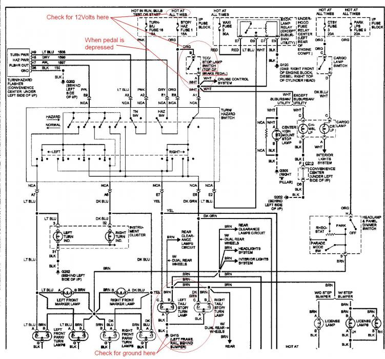 94 toyota camry tail light wiring diagram