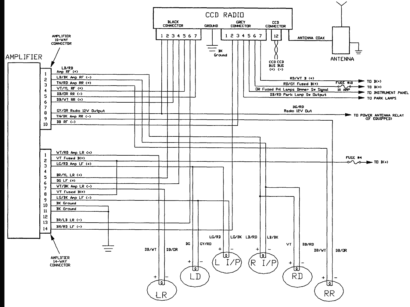 97 Jeep Grand Cherokee Infinity Gold Wiring Diagram Sample