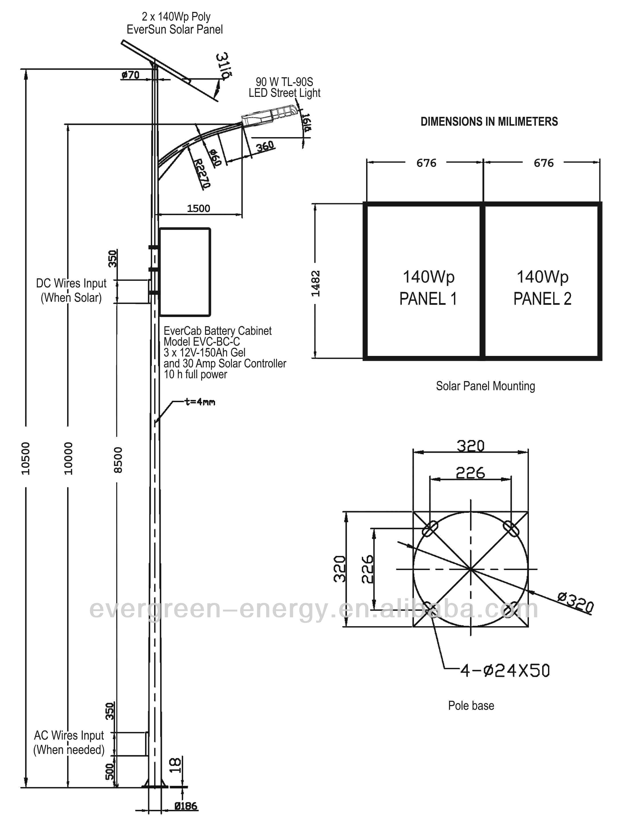 Led Street Light Wiring Diagram Sample