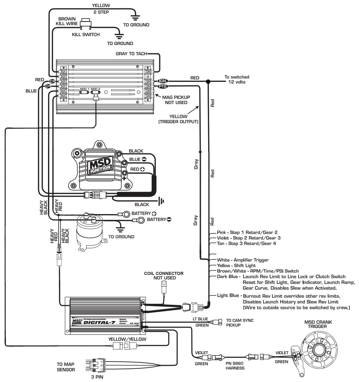 Msd 6al 2 Wiring Diagram Download