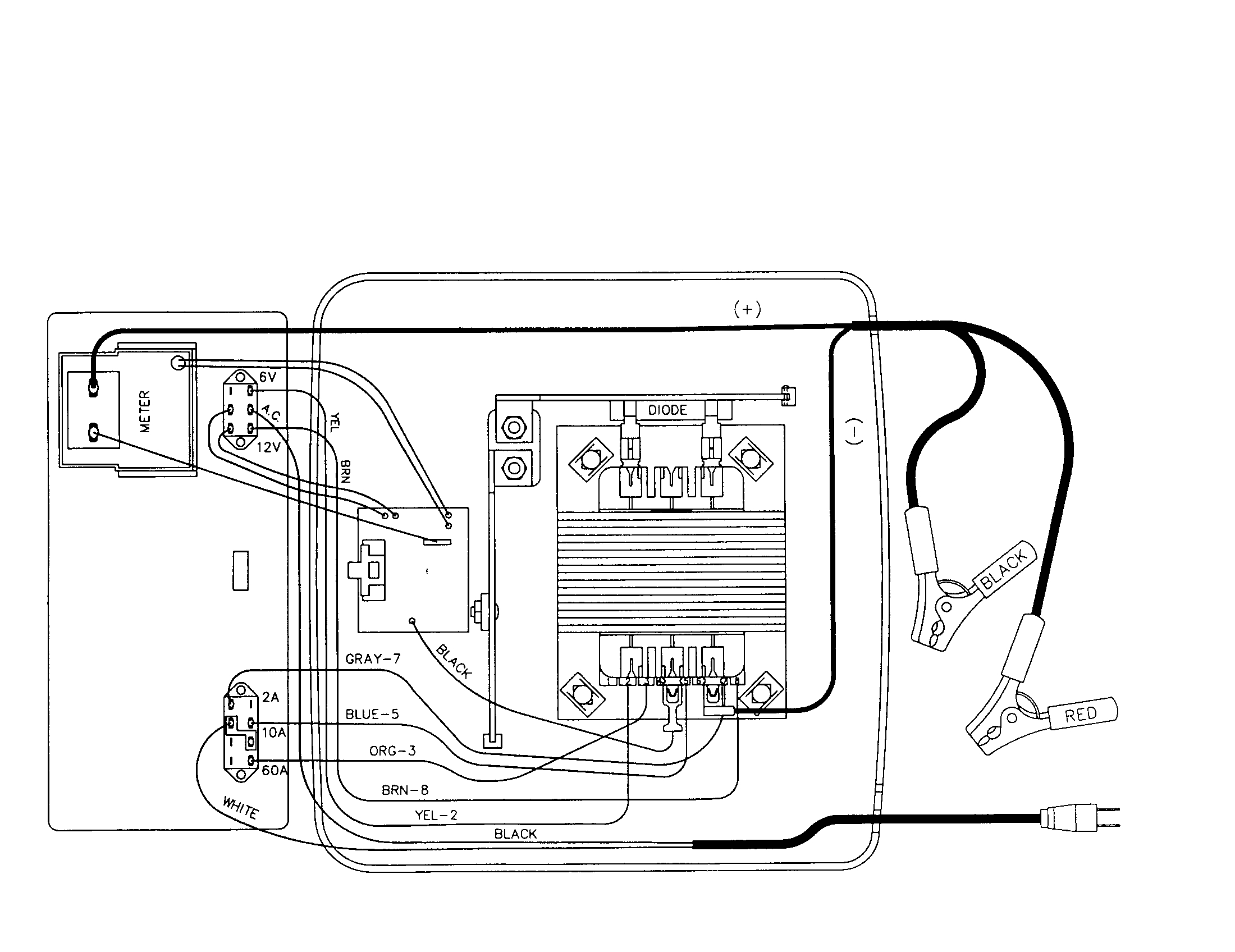 Schumacher Battery Charger Se 82 6 Wiring Diagram Gallery