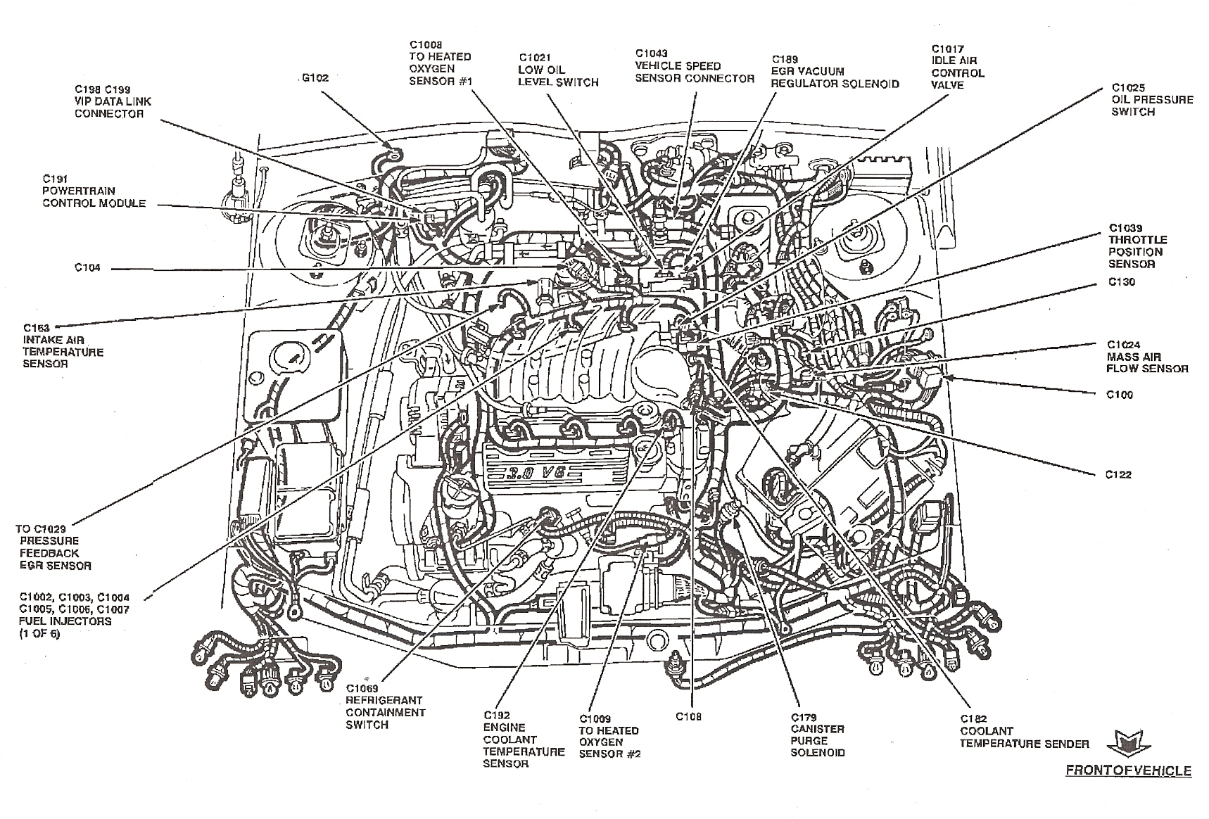 Ford Taurus Wiring Diagram Pictures
