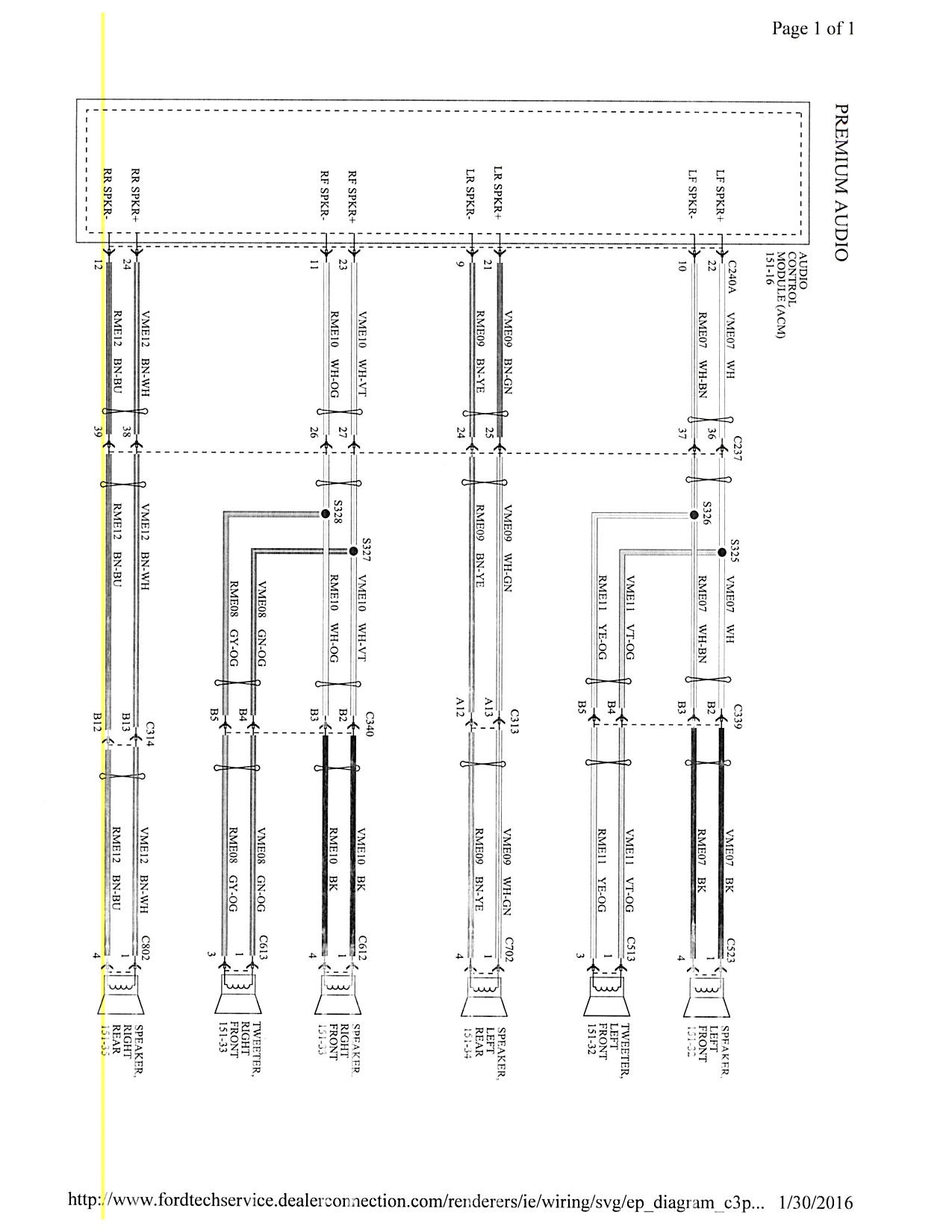 Wiring Diagram For A Ford Focus Pictures