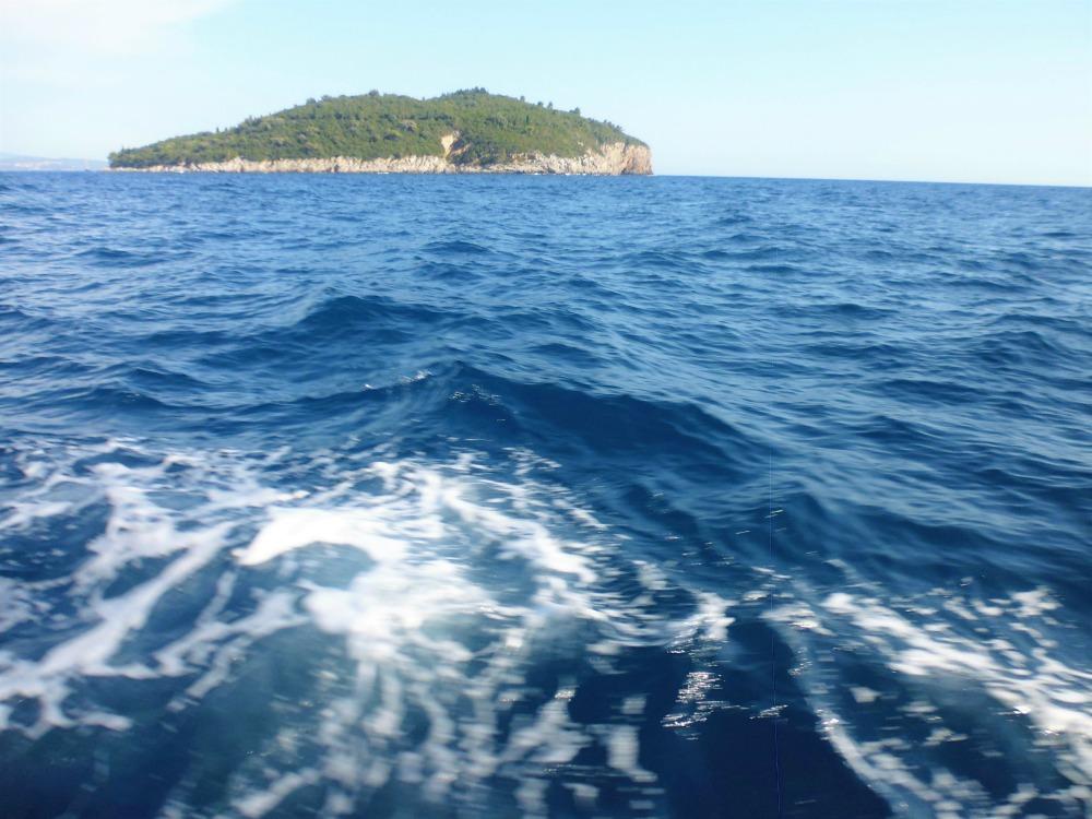 rejs dookoła wyspy Lokrum koło Dubrownika w Chorwacji