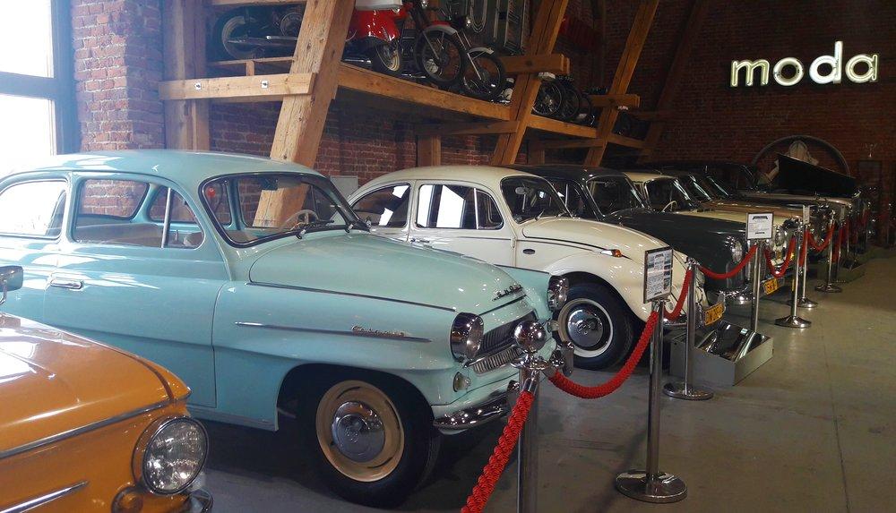 co fajnego we Wrocławiu - muzeum motoryzacji topacz