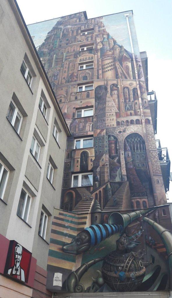 Mural Częstochowa