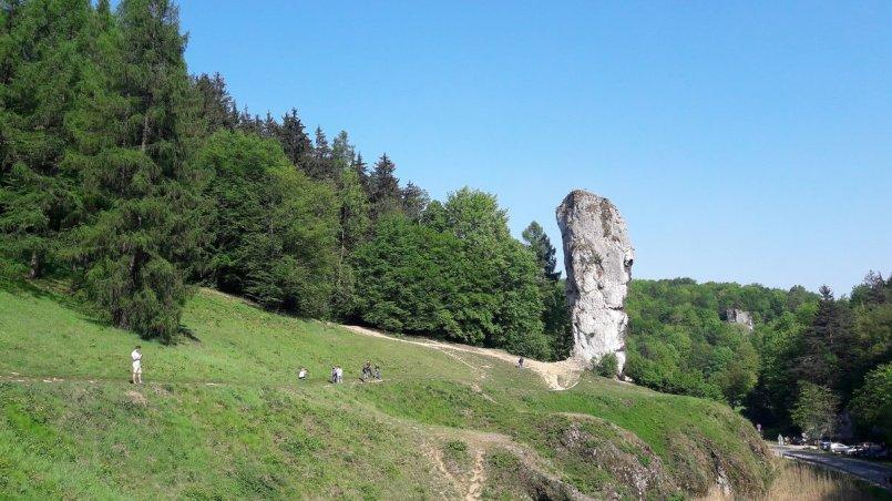 Ojcowski Park Narodowy - Maczuga Herkulesa