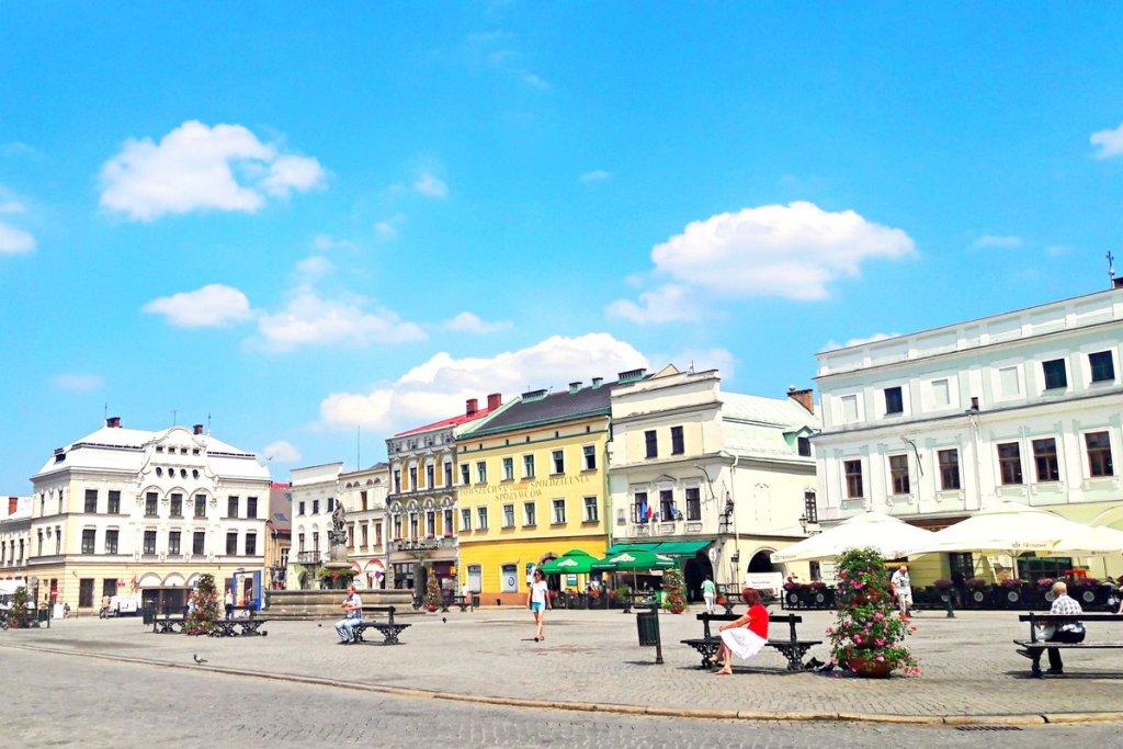 Rynek w Cieszynie po polskiej stronie - Co zwiedzić w Cieszynie