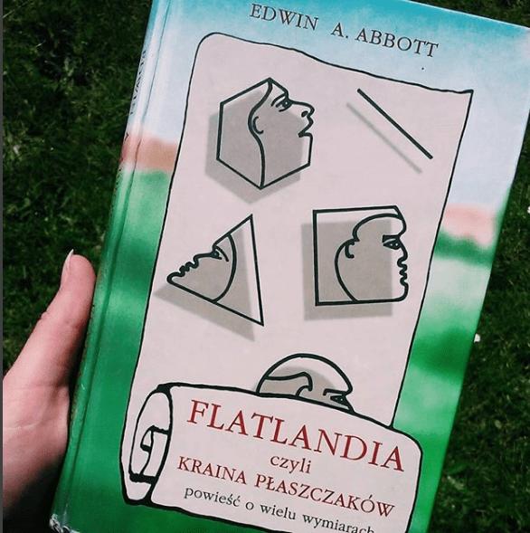 książka Flatlandia czyli Kraina Płaszczaków Edwina A. Abotta - opinia