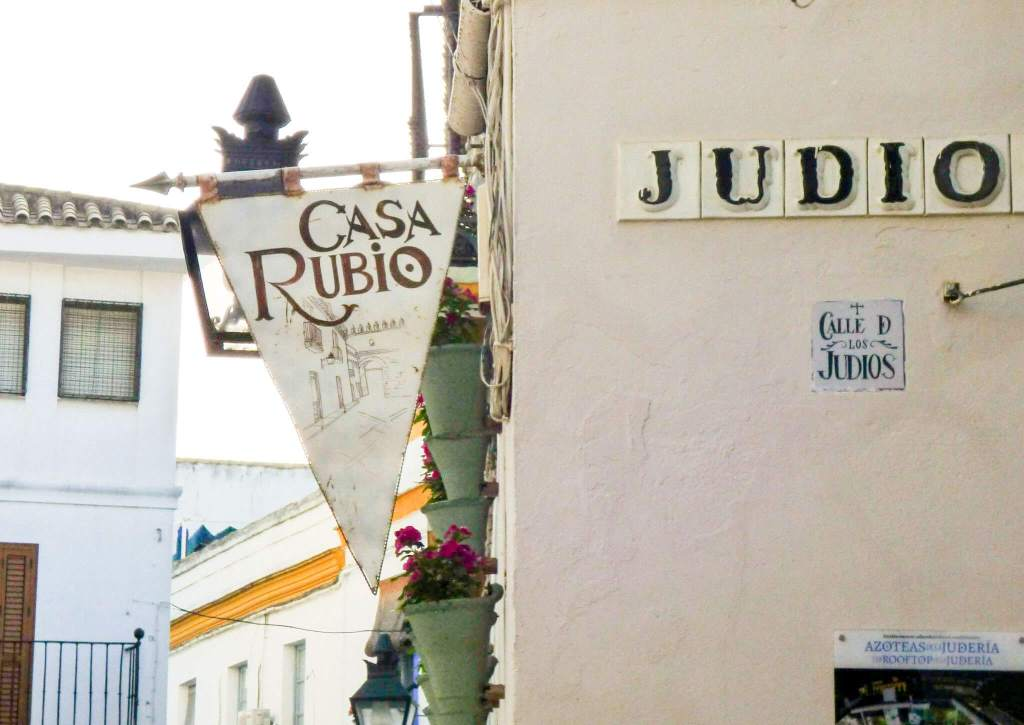 dzielnica żydowska w Kordobie - Hiszpania w zdjęciach