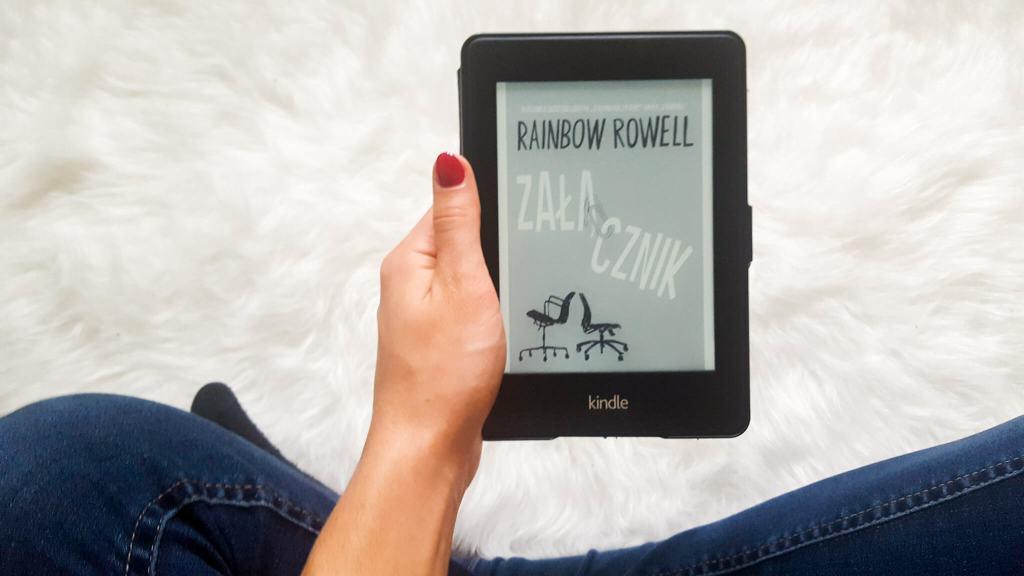 Rainbow Rowell Załącznik recenzja - 3 książki które ostatnio przeczytałam
