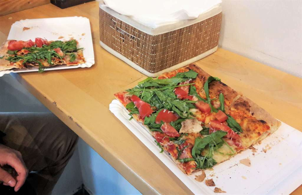Pizza a pezzi - opinie