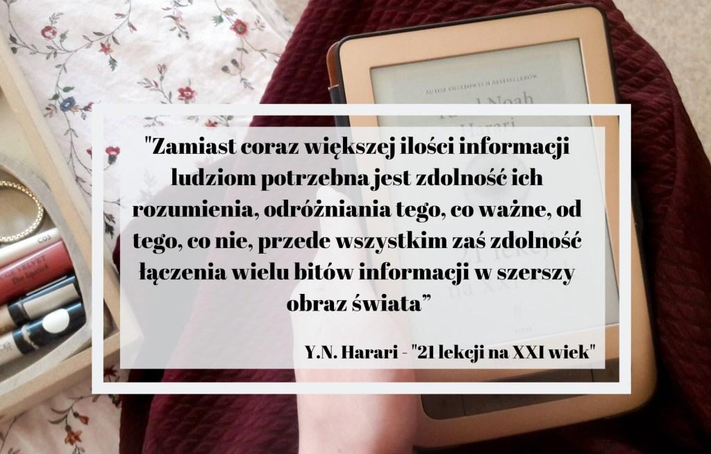 21 lekcji na XXI wiek - Harari - Cytaty