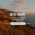 Car Camping in Big Sur