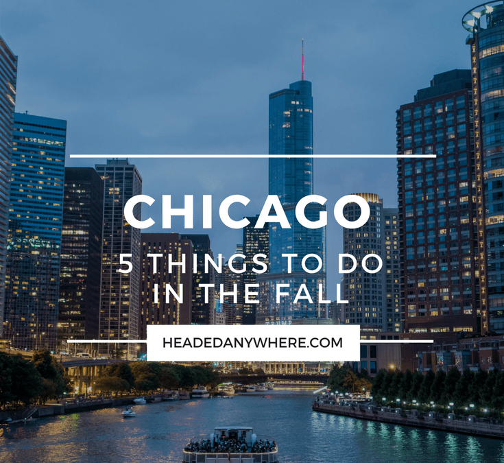 5 Things to do in Chicago this Fall