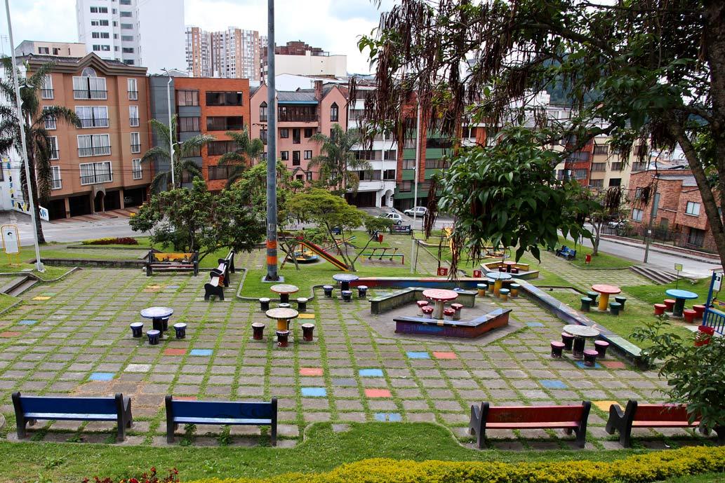 Manizales, Colombia Park