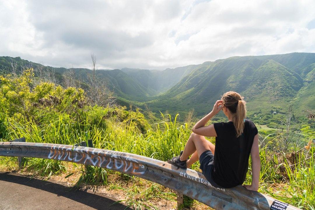 Halawa Valley Overlook
