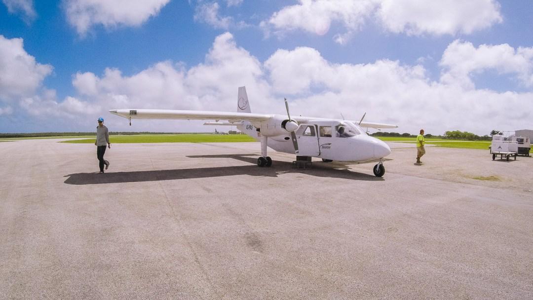 Real Tonga Plane