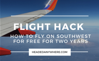How I Earned 2 Years of Free Flights with a Southwest Companion Pass